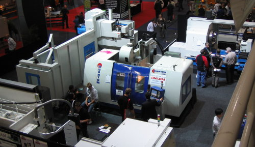 CNC Machinery at Austech